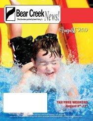 Bear Creek August 2019