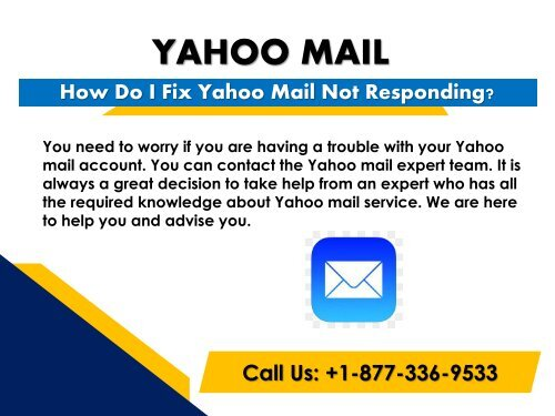 How Do I Fix Yahoo Mail Not Responding?