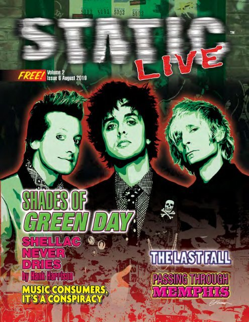 Static Live Magazine August 2019
