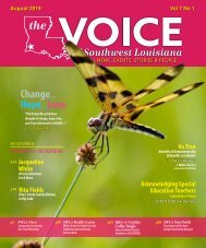 The Voice of Southwest Louisiana August 2019 Issue