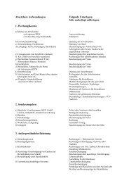 Absetzbare Aufwendungen Folgende Unterlagen
