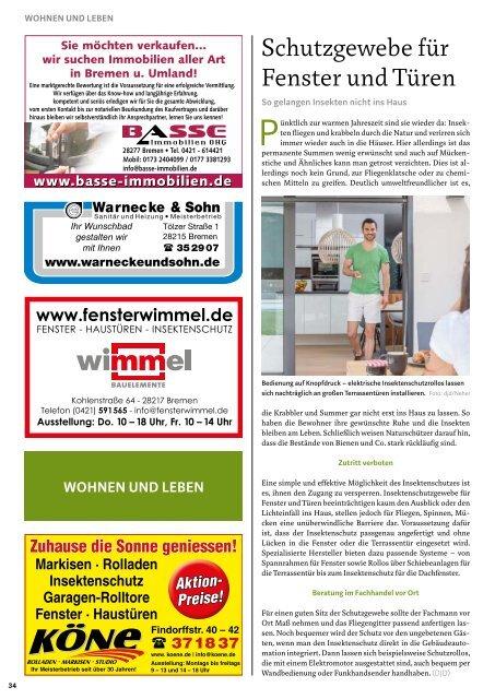 STADTMAGAZIN Bremen August 2019
