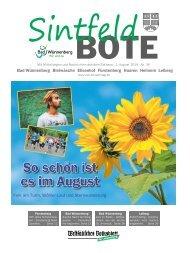 Sintfeld Bote August 2019