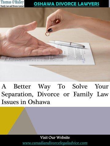 Oshawa Divorce Lawyers