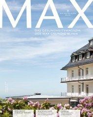 MAX #1: Check-Up, Holy Schwarzwald, Fabian Hambüchen