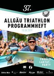 Allgäu Triathlon Programmheft 2019
