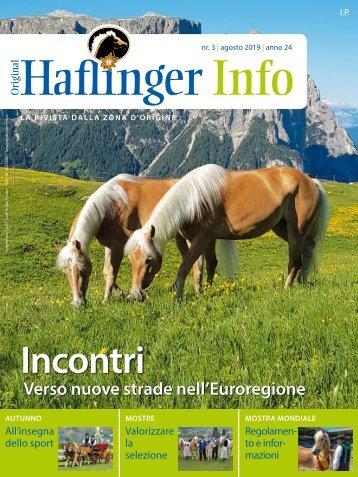 Haflinger Info – agosto 2019 (prova di lettura)