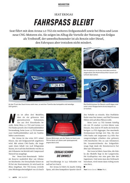 ACS Automobilclub - Ausgabe 04/2019