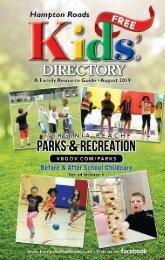 Hampton Roads Kids' Directory August 2019