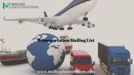 Transportation Mailing List