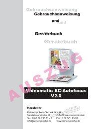 Gerätebuch - Reinecker Reha-Technik