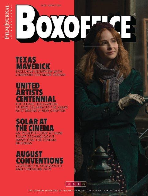 Boxoffice - August 2019