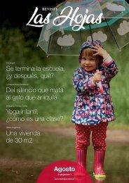 Revista Las Hojas Agosto