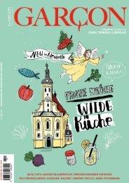 Magazin GARCON - Essen, Trinken, Lebensart Nr. 52