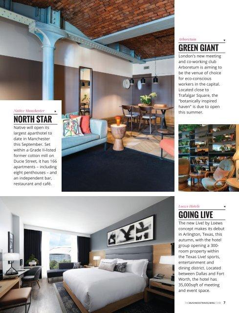 The Business Travel Magazine Aug/Sept 2019