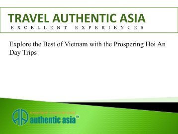Explore the Best of Vietnam with the Prospering Hoi An Day Trips