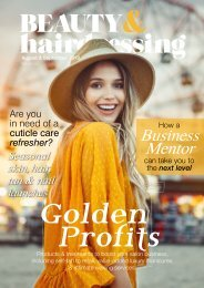BEAUTY & hairdressing Aug/Sept 2019
