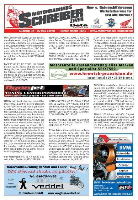 Kradblatt Ausgabe August 2019