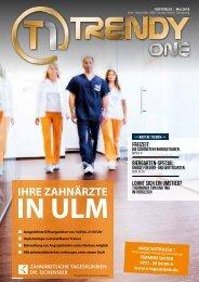 TRENDYone | Das Magazin - Ulm / Neu-Ulm - Mai 2019