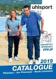 Catalogue Uhlsport Pétanque 2019 chez votre équipementier sportif CLUB-SHOP.FR