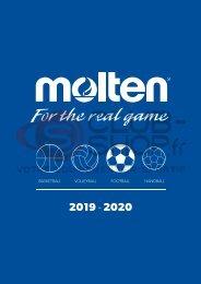 Catalogue Molten 2019 chez votre équipementier sportif CLUB-SHOP.FR