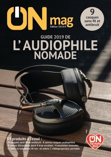 ON mag - Guide de l'audiophile nomade 2019