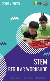 STEMex Regular Workshop 2021-2022