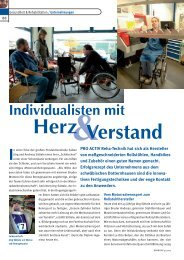 Verstand Herz - bei PRO ACTIV Reha-Technik GmbH