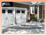 Garage Door Company Maryland