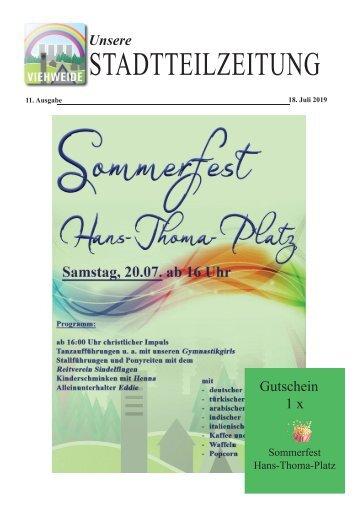 11. Ausgabe der Stadtteilzeitung Viehweide