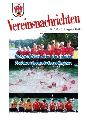 VfV Hildesheim - Vereinszeitung 2/2019