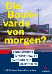 Programm Internationales Bauforum 2019