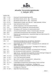 aktueller Veranstaltungskalender 2. Halbjahr 2012 - OT-Forum