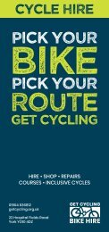 Get Cycling Bike Hire