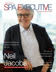 Spa Executive | Issue 9 | August 2019