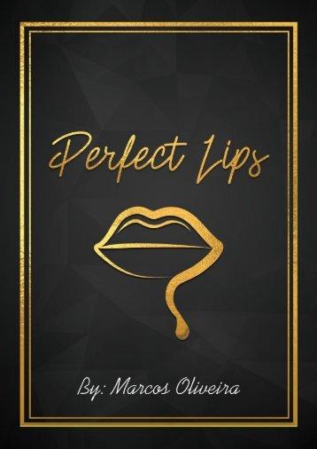 Perfect Lips PRETO E DOURADO