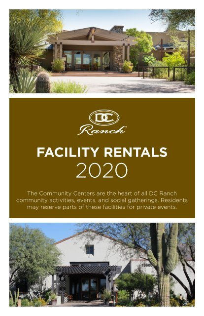 Facility Rental Brochure 2020