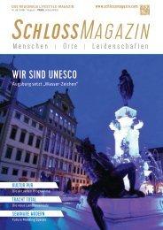 SchlossMagazin August 2019 Bayerisch-Schwaben und Fünfseenland