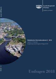 Potsdam Bürgerumfrage 2018