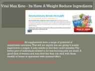 Vital Max Keto - Its Have A Weight Reduce Ingredients-converted