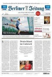 Berliner Zeitung 03.08.2019