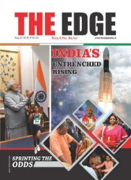 The Edge  Magazine August Edition 2019