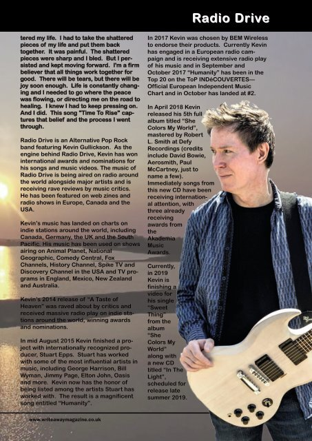 Write Away Magazine - August Edition