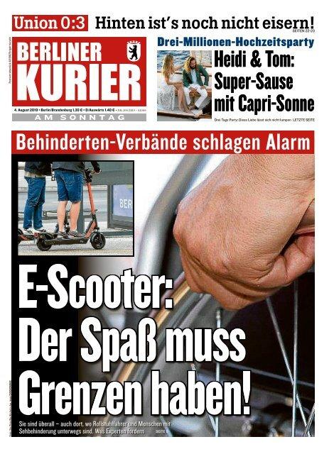 Berliner Kurier 04.08.2019