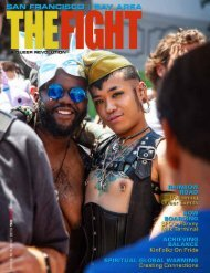 THE FIGHT SF / BAY AREA'S LGBTQ MONTHLY MAGAZINE AUGUST 2019