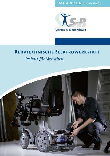 Rehatechnische Elektrowerkstatt - Siegfried von Bültzingslöwen ...