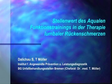 Aquales Funktionstraining