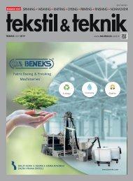 Tekstil Teknik 2019 Temmuz Sayısı