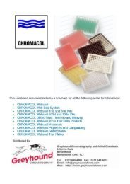 CHROMACOL Vial Accessories (combined files)