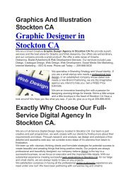 Aku Graphic Designer Stockton CA | 209-888-0630